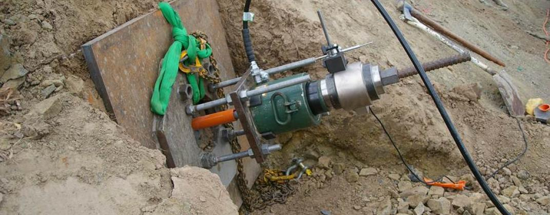 Rock Soil Anchoring System : Kettering soil anchoring maintenance systems